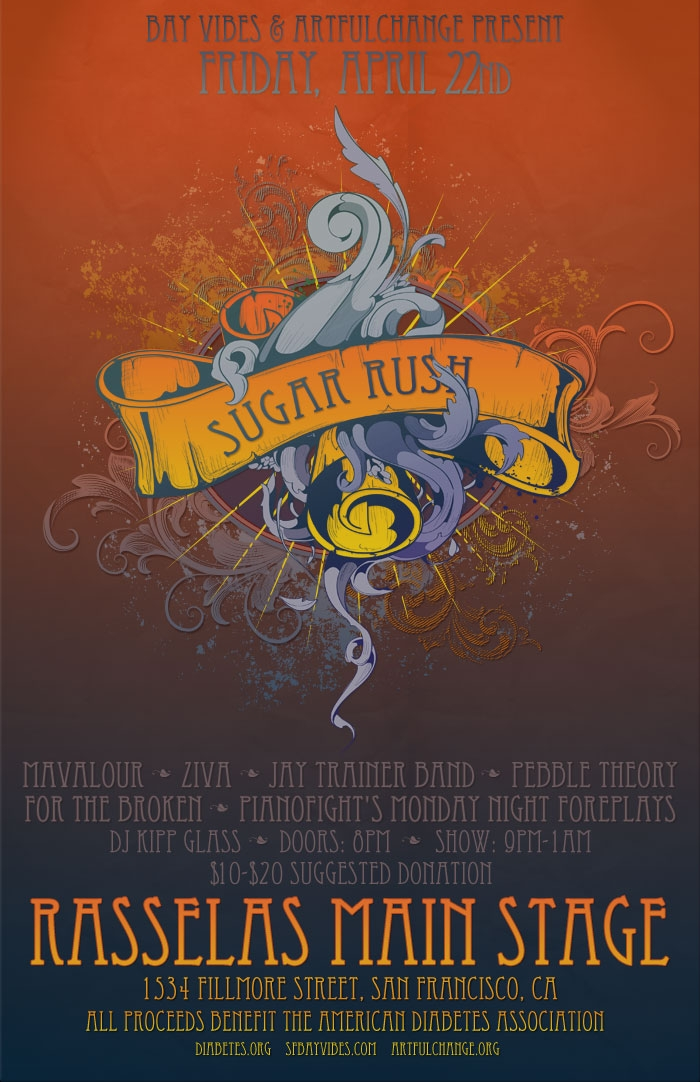 'SUGAR RUSH': A Fundraiser Concert for the American Diabetes Association
