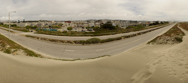 Niall David Photography | Great Highway Panorama | Ocean Beach San Francisco-