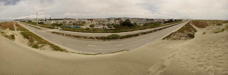 Niall David Photography | Great Highway Panorama | Ocean Beach San Francisco-