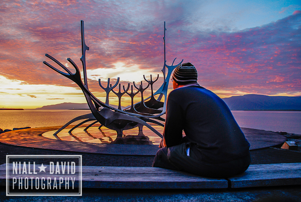 Niall David Photography - Reykjavik Iceland Midnight Sunset-595-2844
