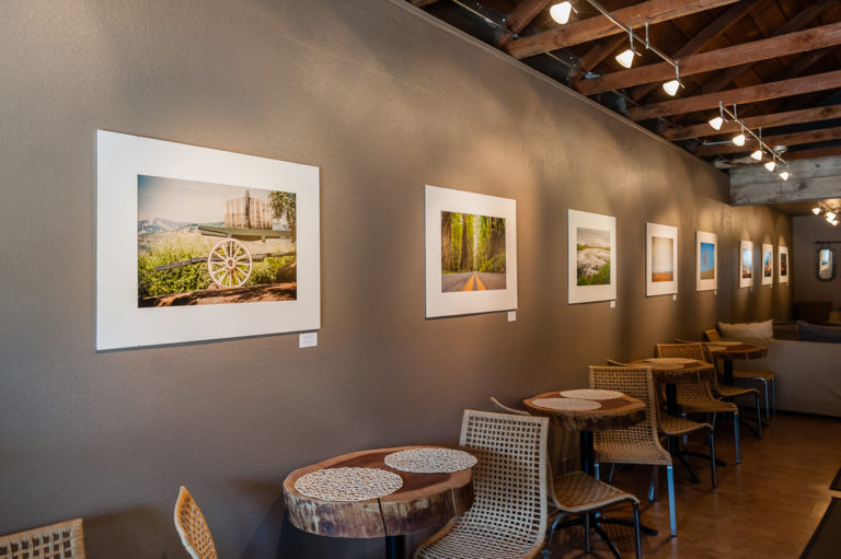 Solo Art Gallery Show – Landscape Photographs at Whitetail Wine Bar – Final Week!
