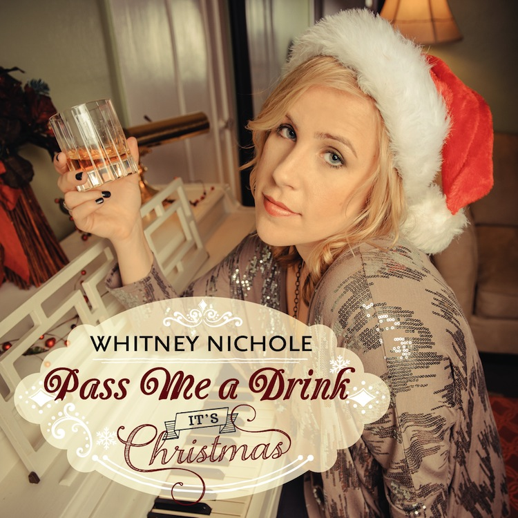 Happy Holiday Tunes | Whitney Nichole Holiday Singles Portrait Photoshoot | San Francisco Music Photography